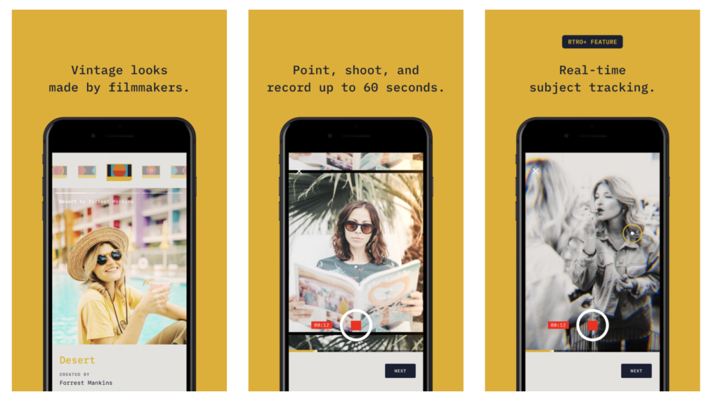 Rtro New Video Camera App By Moment 2