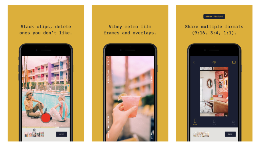 Rtro New Video Camera App By Moment 4