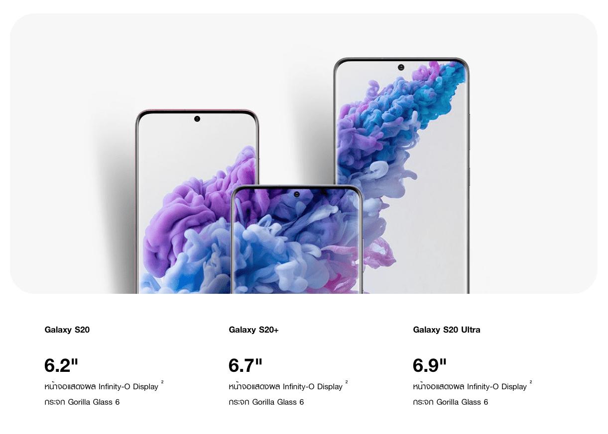 Samsung Unveils Galaxy S20 S20 Plus S20 Ultra 5g Img 1