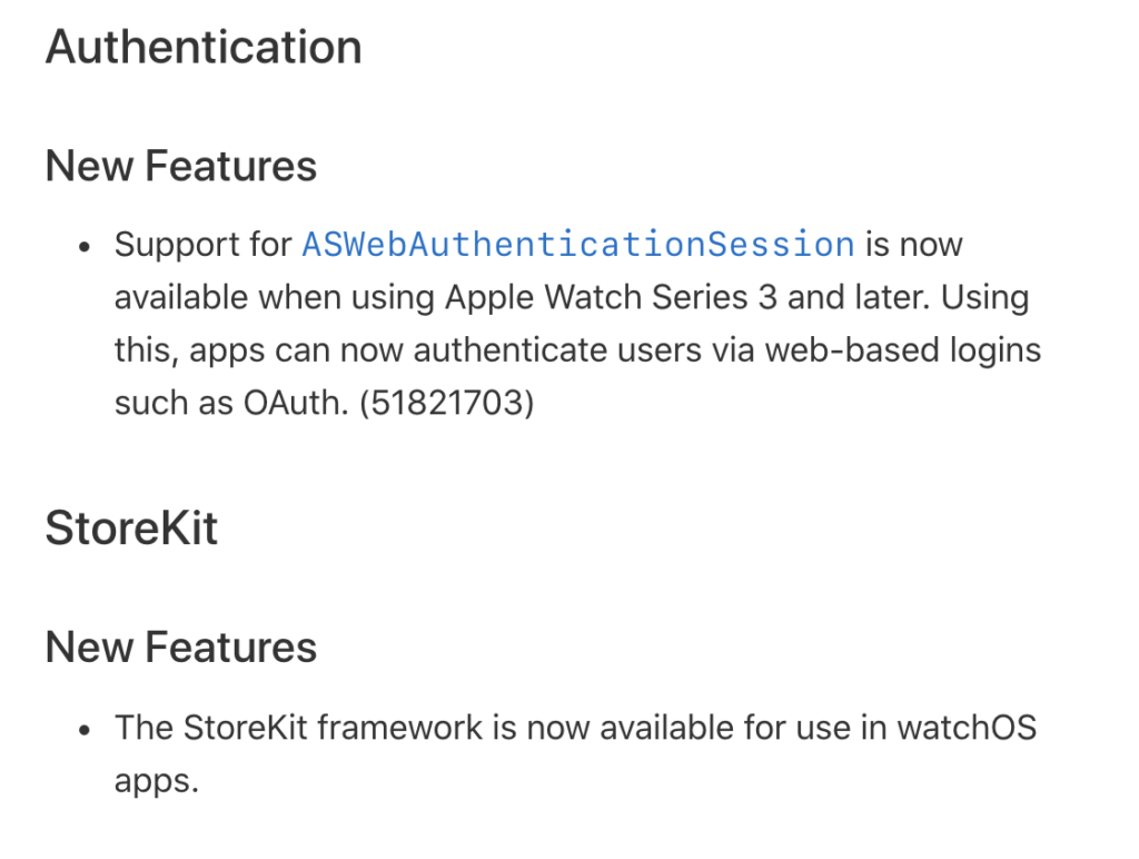 Watchos 6 2 Support Web Authentication 1