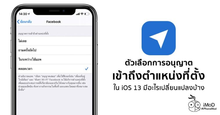 What Changed Location Services Ios 13 Iphone