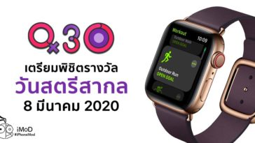 Womens International Day 2020 Apple Watch Award Challenge