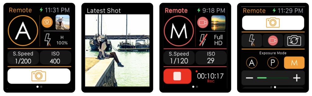 20 Suggestion Camera Apps Support For Take Shutter On Apple Watch 11