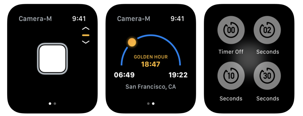20 Suggestion Camera Apps Support For Take Shutter On Apple Watch 12