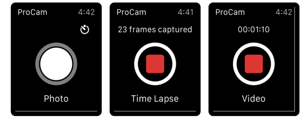20 Suggestion Camera Apps Support For Take Shutter On Apple Watch 17