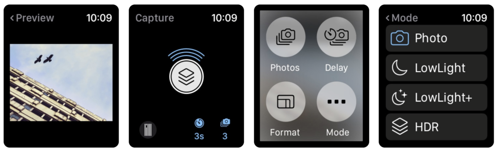 20 Suggestion Camera Apps Support For Take Shutter On Apple Watch 3