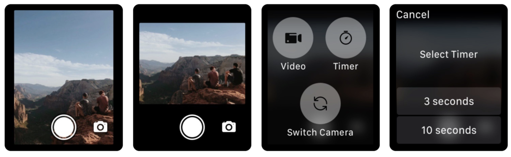 20 Suggestion Camera Apps Support For Take Shutter On Apple Watch 4