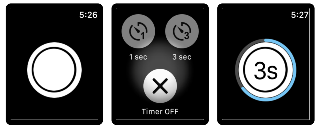 20 Suggestion Camera Apps Support For Take Shutter On Apple Watch 8