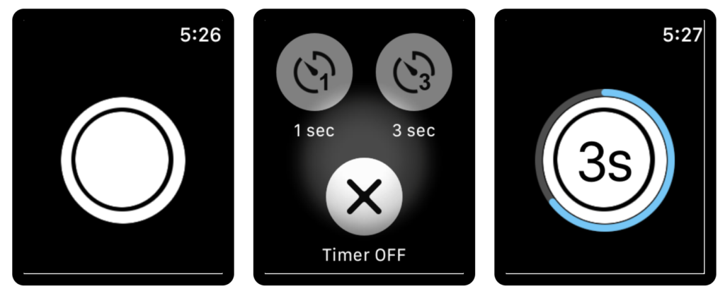 20 Suggestion Camera Apps Support For Take Shutter On Apple Watch 9