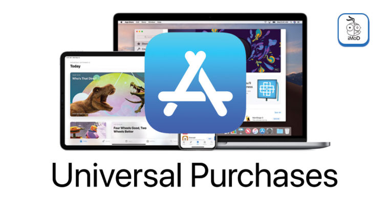 Apple Released Universal Purchase Mac App