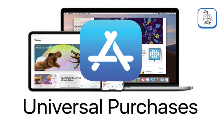 Apple Released Universal Purchase Mac App