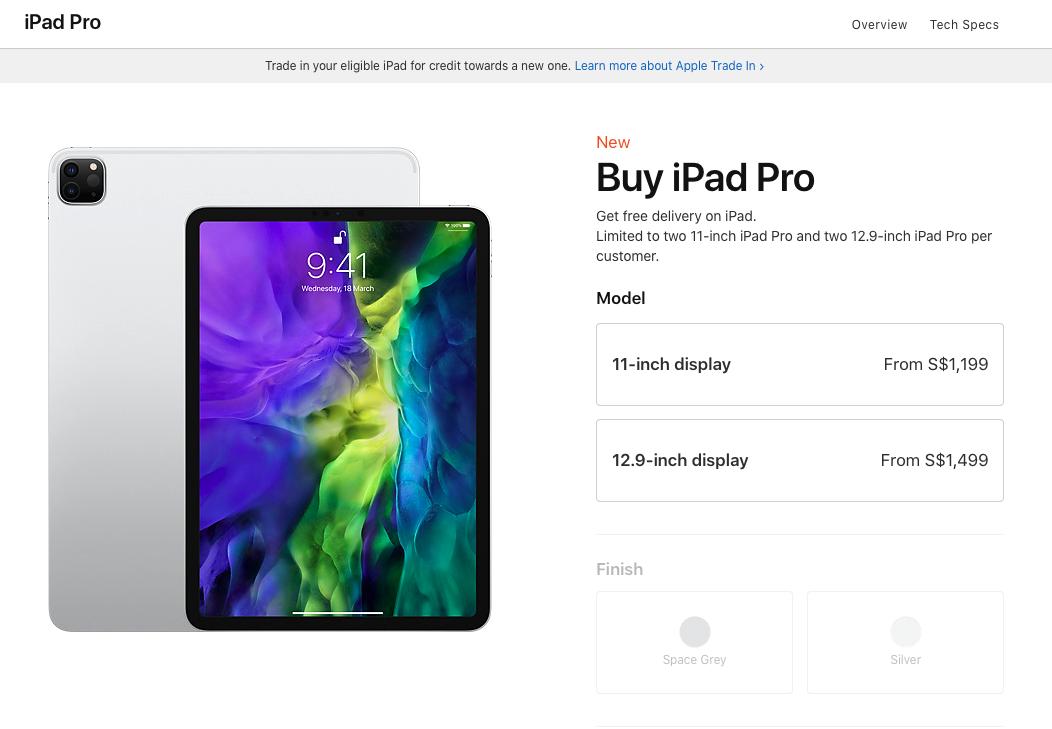 Apple Sets Limits Ipad Pro Macbook Air Mac Mini Iphone Apple Store Online Img 2