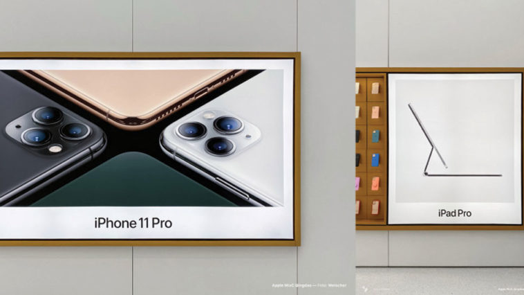 Apple Store Promote New Ipad Pro
