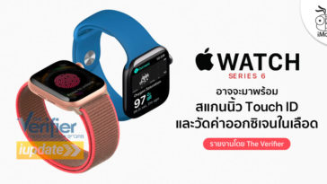 Apple Watch Series 6 Rumor Touch Id Digital Crown And Spo2