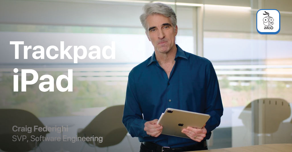 Craig Federighi Demo Trackpad Ipad Pro With Magic Keyboard