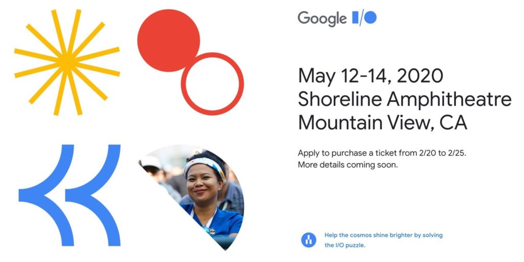 Google Annouced Cancel Google Io Event 2020 2