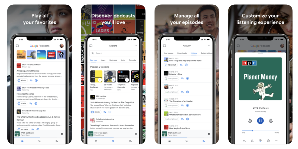 Google Released Google Podcasts App For Iphone 2