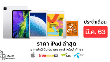 Ipad Price List March 2020 Cover