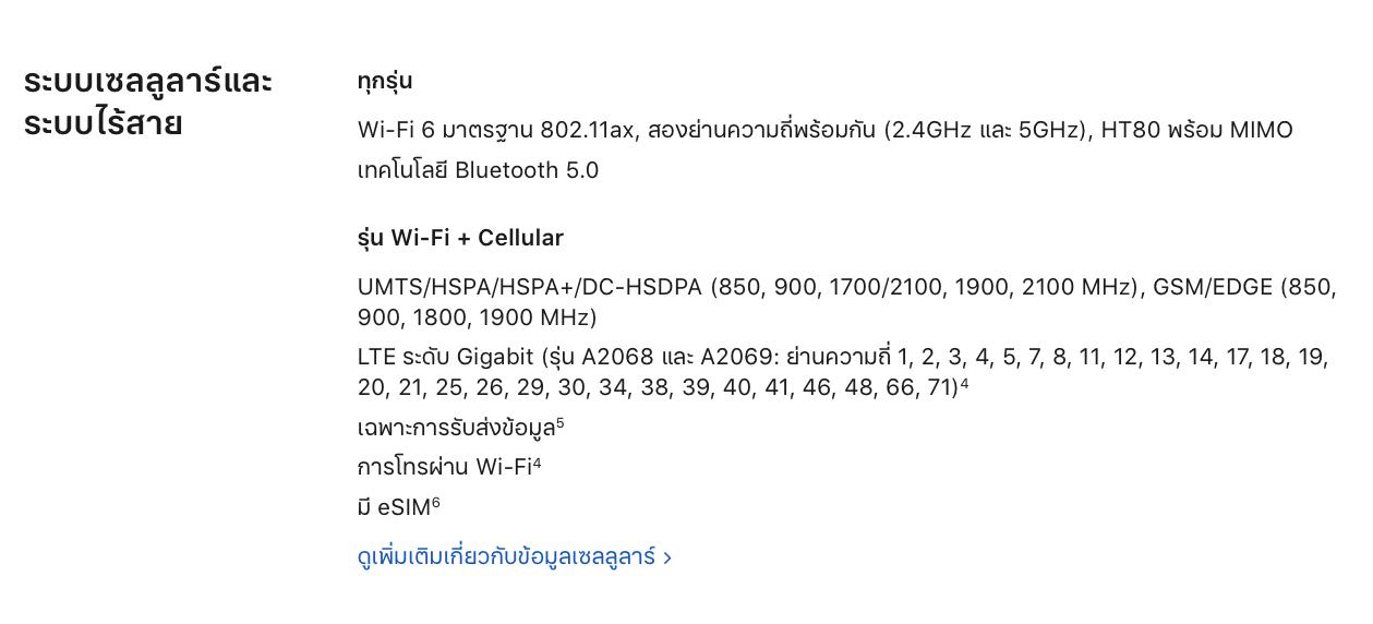 Ipad Pro 2020 Wifi 6 Support Img 1