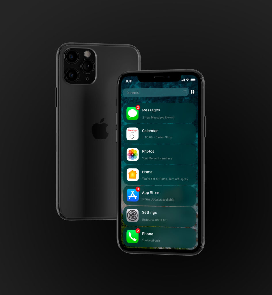 List View Ios 14 Leak Concept By Ispazio 1