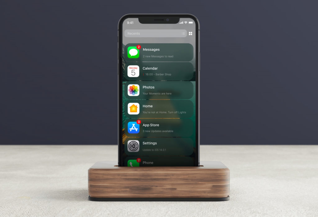 List View Ios 14 Leak Concept By Ispazio 2