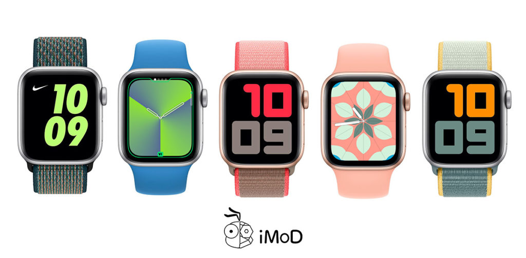 New Apple Watch Face Spring Collection Color Watchos 6 2 2