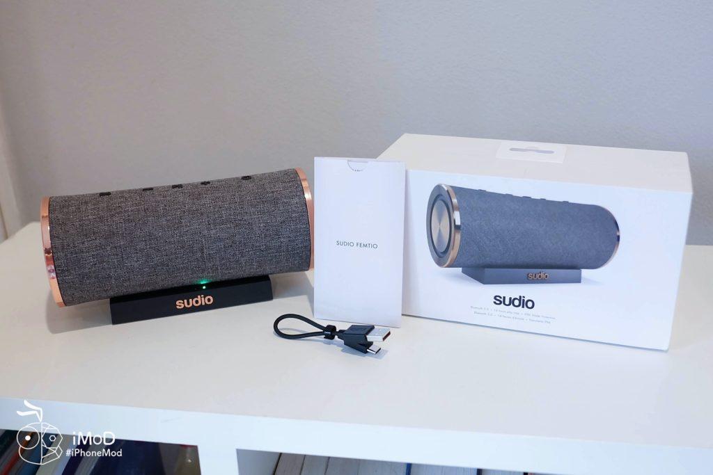 Sudio Femtio Bluetooth Speaker Review 28