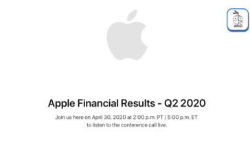Apple Earnings Release Q2 2020 Date